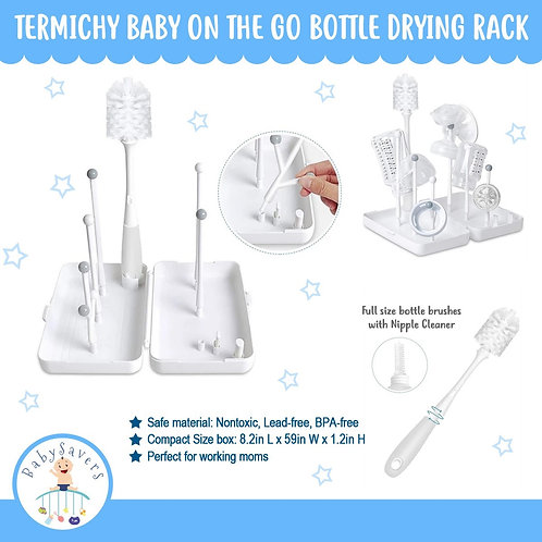 Termichy Baby On the Go Bottle Drying Rack