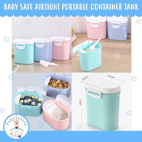 Baby safe Airtight Portable Container Tank