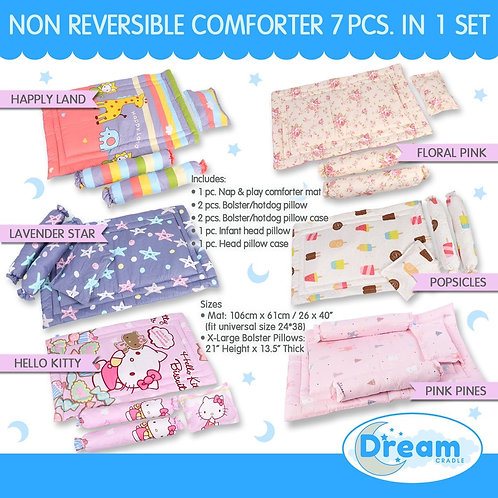 Non-reversible Baby comforter set, Girl