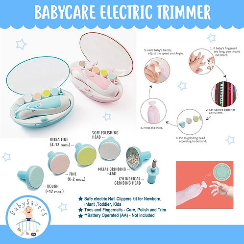 Babycare Electric Trimmer