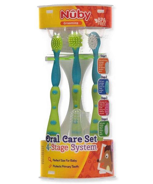 Nuby 4 Stage Oral Care Set System