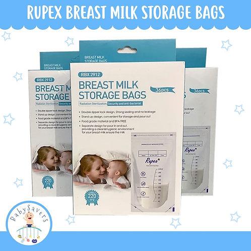Rupex Breast Milk storage Bags 36pcs/box