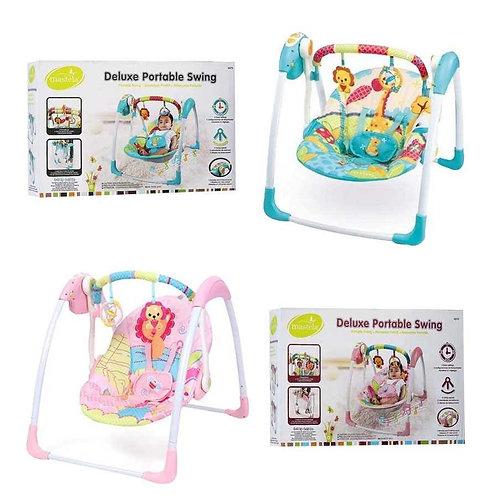 Mastela Deluxe Portable Electric Swing