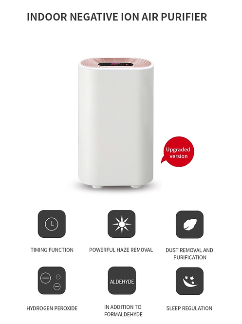 Air Purifier True Hepa Filter Ionize and dust remover