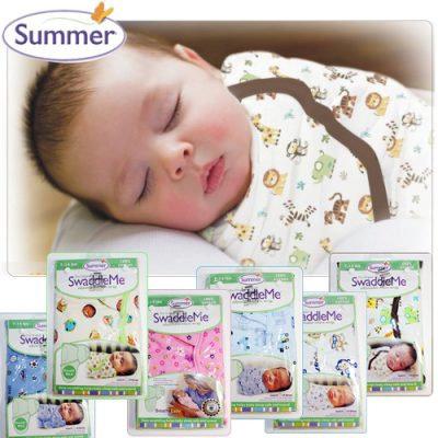Summer Infant SwaddleMe Adjustable Infant Wrap, Small/Medium