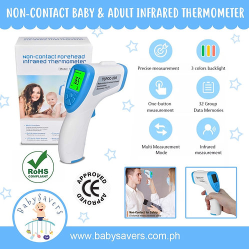 Non-Contact IR Infrared Thermometer for Baby & Adult. Laser LCD Backlight