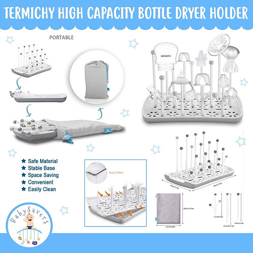 Termichy High Capacity Bottle Dryer Holder