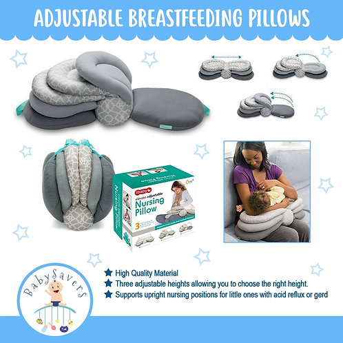 Breastfeeding Pillows Layered Adjustable Nursing Cushion