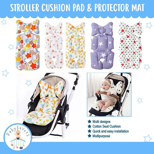 Multipurpose Cushion Pad, Cotton Breathable Stroller, Protector Mat