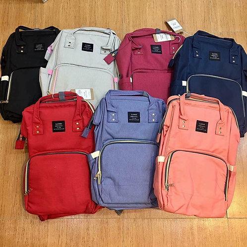 Land diaper bag multi-function waterproof travel backpack for mom & dad