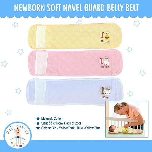 Newborn 2pcs Soft Navel Guard Bellty Belt