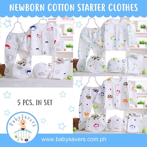 FLASH SALE! Newborn/Infant starter clothes set - Choose design