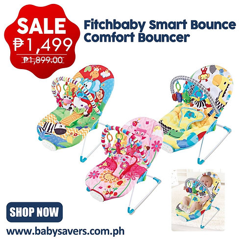 Fitchbaby Smart bounce Comfort Bouncer