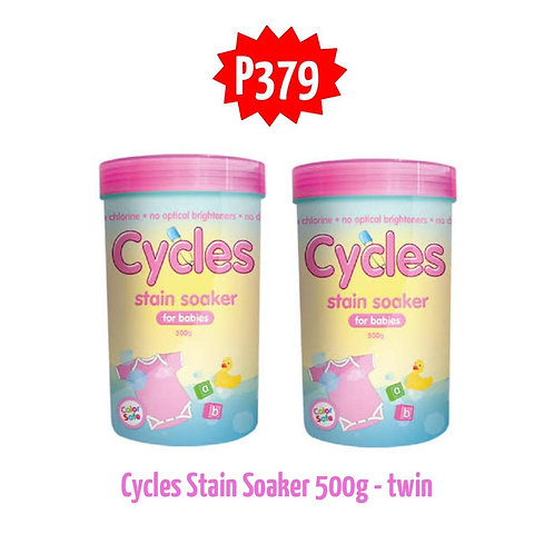 CYCLES Stain Soaker 500g For Babies twin