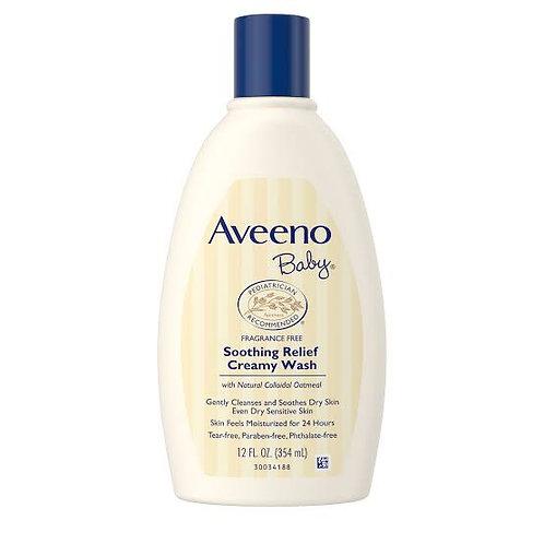 Aveeno Baby Soothing Relief Creamy Wash, 8 fl oz (236 ml)