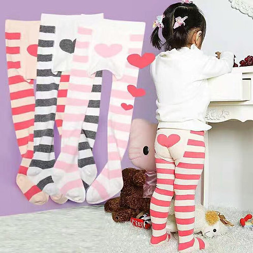 Baby Girls Infant Toddler 2Pack of Soft Stock Tights