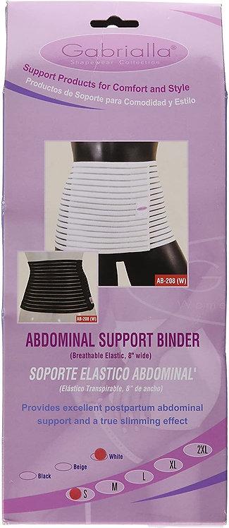 GABRIALLA Medium Women's Breathable Abdominal/Back Support Binder