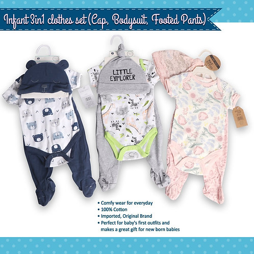 Infant clothes 3in1 set
