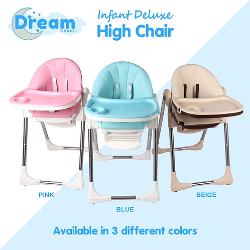 Infant Deluxe Feeding Fold High Chair