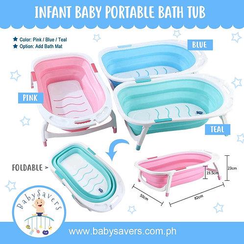 Infant Baby Portable Folding Bath Tub