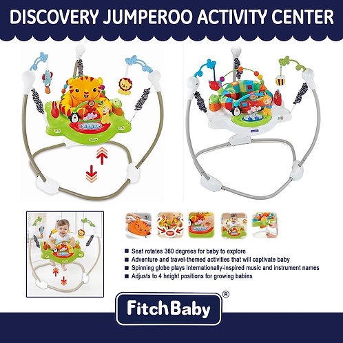 FitchBaby Discovery Jumperoo Activity Center