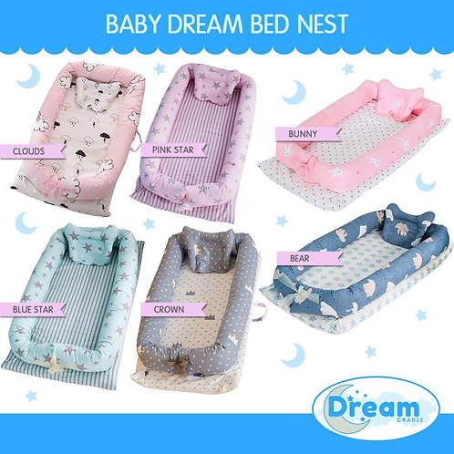 Baby Nest Co-sleeper Portable travel bed
