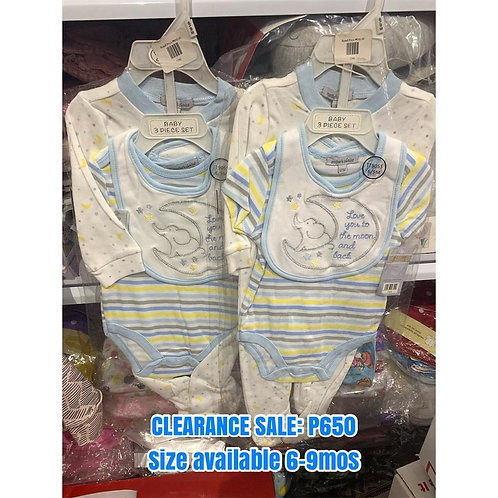 Mother's Choice Infant Clothing set 6-9m