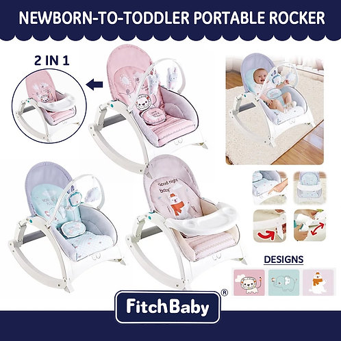 Fitchbaby 2 in 1 Rocker Dining Chair
