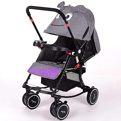 Momstory Newborn reversible Stroller with Rocking System