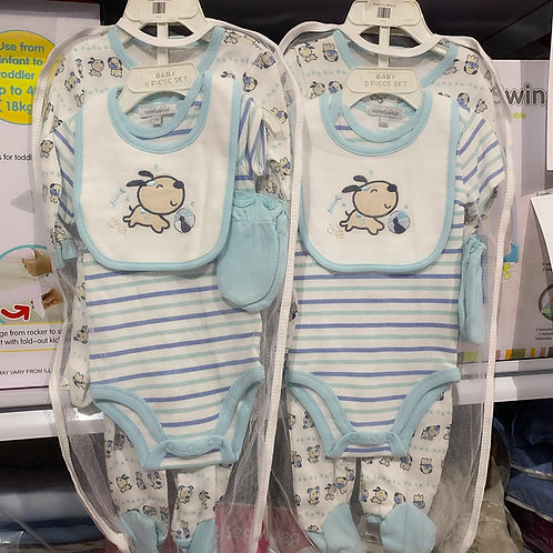 Mother's Choice Infant 5pcs Boy layette set 6-9mos