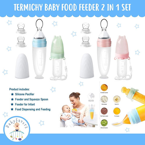 Termichy Baby Food Feeder 2 in 1 Set