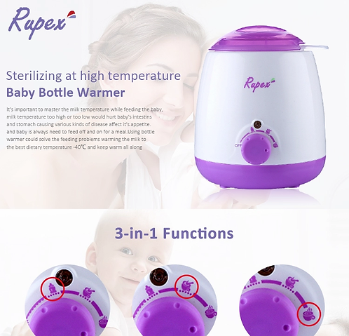 Multi-function food warmer simple sterilizer baby milk bottle warmer