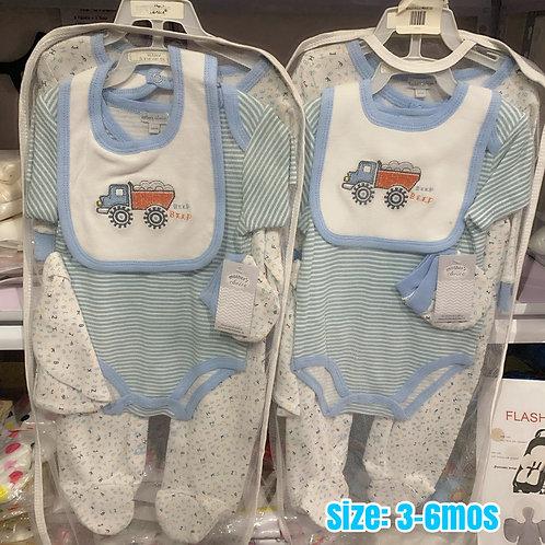 Mother's Choice 5pc Boy layette set