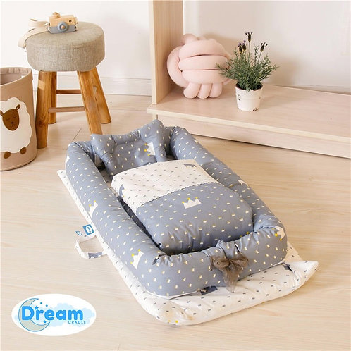 DreamCradle Baby Nest Portable bed & Blanket set