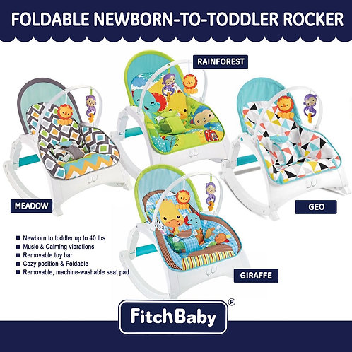 Fitchbaby Infant-to-Toddler Portable Folding Rocker