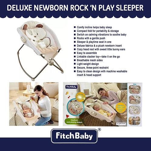 FitchBaby Deluxe Newborn Rock 'n Play Sleeper