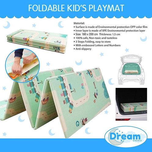 Foldable Baby Playmat/Crawling Mat (Random Designs)