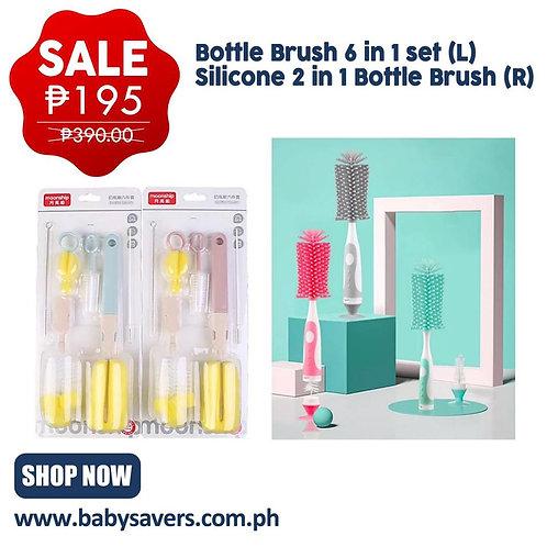 Bottle Brush 6 in 1 set