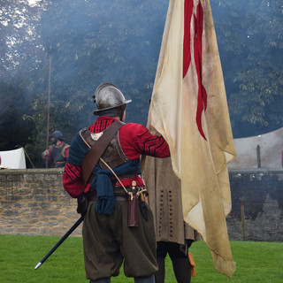 Re-enactment of the Crowland Seige of 1643