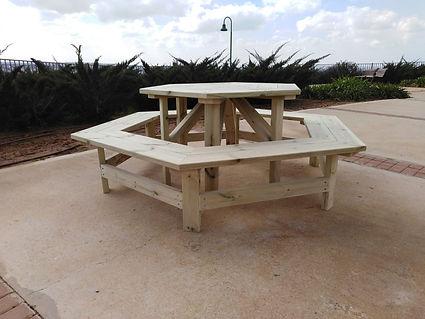 שולחן קקל משושה 1