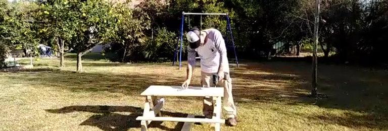 """קיט שולחן קק""""ל ילדים להרכבה עצמית"""