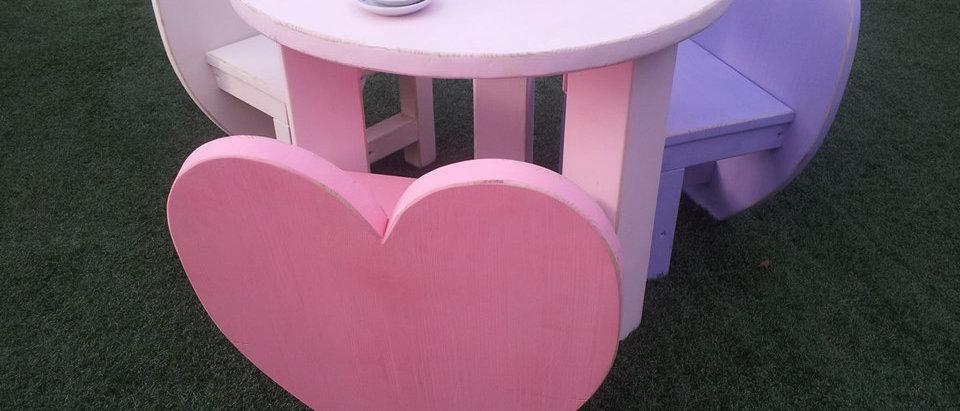 שולחן מסיבת תה לנסיכות
