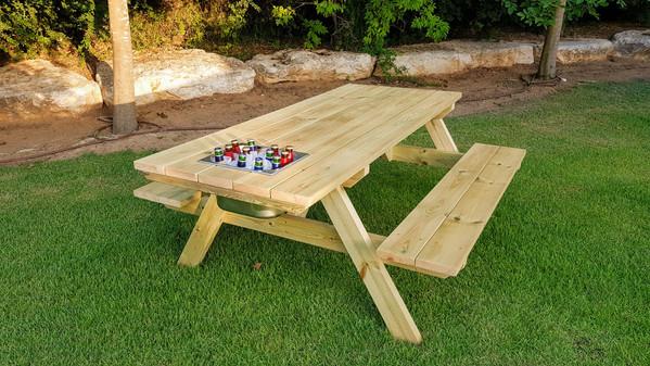 """שולחן קק""""ל בירה 1"""