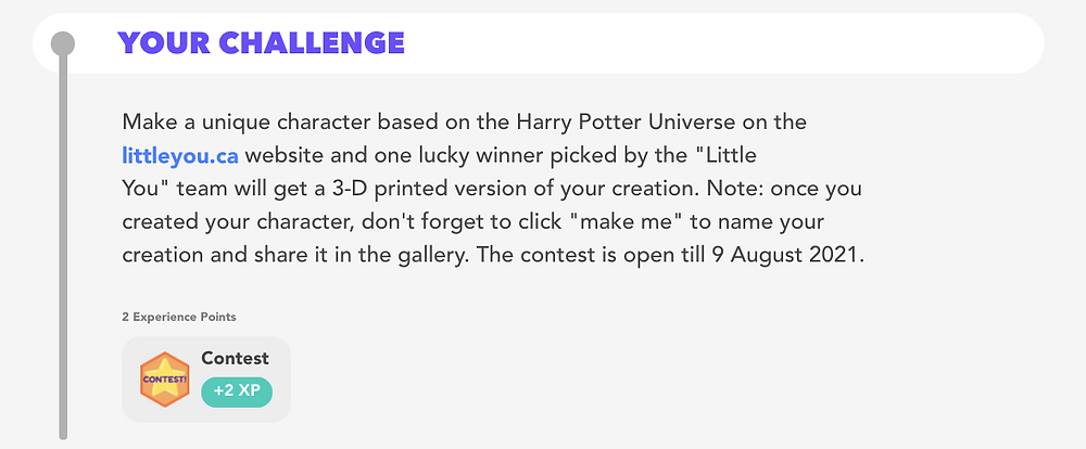 little you challenge with DIY.org