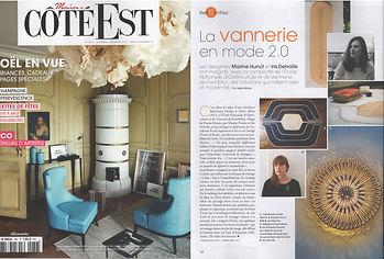 Article Coté Est Marine Hunot
