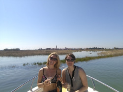 Boating behind Burano #prosecco