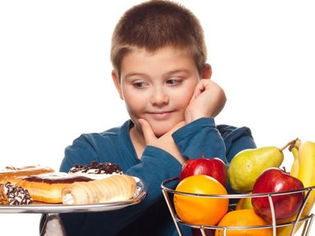¿Tu niño come sano?