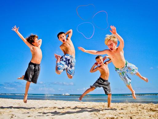 El tiempo de los hijos en verano ¿Como gestionarlo?