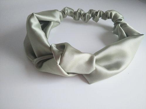 Satin Headband    Sage