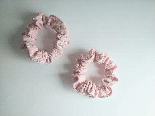 Blush Pink Scrunchie (Mini)
